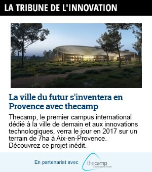 La Tribune Innovation aveec The Camp