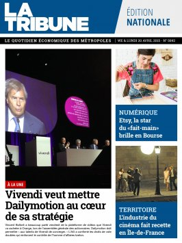 Edition Quotidienne du 18-04-2015