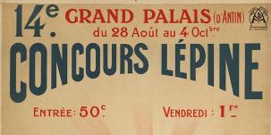 Affiche concours Lépine