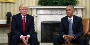 Obama recoit trump a la maison blanche pour preparer la transition