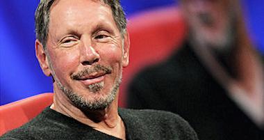 Larry Ellison, fodnateur d'Oracle, est la 3e fortune américaine, et la 5e du monde.