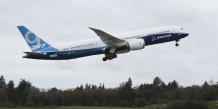 premier vol du Boeing 787-9 Dreamliner Décollage