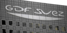 The GDF Suez SA logo is seen on the company's headquarters at La Defense in Paris, France, on Monday, Aug. 9, 2010. GDF Suez SA and International Power Plc are near an agreement that would have France's second-largest utility take control of the British company with interests in more than 45 power s