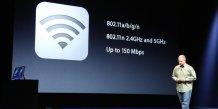 Intègre également une nouvelle gestion du WiFi avec la bande des 2,4 et 5 GHz sur le 802.11n (jusqu'à 150 Mbps)