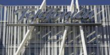 """Telefonica ajoute que si Mediaset accepte l'offre, il """"renonce à son option préférentielle d'achat de la participation de Prisa, recevant en contrepartie un montant de 30 millions d'euros"""". /Reuters"""