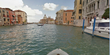 Vue du Grand Canal sur Google Street View / Capture d'écran Google.