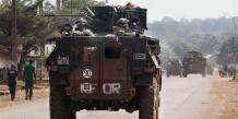 Opération militaire française en Afrique.