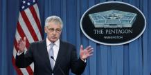 Le secrétaire américain à la Défense, Chuck Hagel.