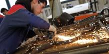 L'industrie fait partie des secteurs qui devraient profiter de cette petite reprise d'activité.