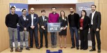 Ils étaient plus de 400 à vouloir représenter l'Ile-de-France au Prix La Tribune des Jeunes Entrepreneurs, mais seuls six ont été sélectionnés.