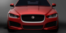 La seule photo officielle de la Jaguar XE