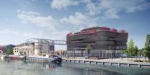 Un nouvel immeuble signé Rudy Ricciotti à la Confluence sera cofinancé par la Caisse des Dépots. © Asylum-Architecte Agence Rudy Ricciotti
