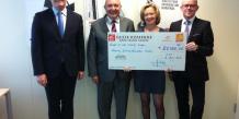 Des chefs d'entreprises apportent leur aide pour la création d'entreprise dans le Nord, la Caisse d'Epargne Nord France Europe apporte son soutien...