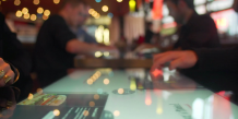 Digitale propose une table de restaurant tactile et connectée. (photo DR)