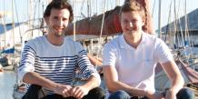 Les deux fondateurs de SamBoat, Nicolas Cargou et Laurent Calando