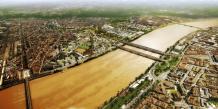 Vue aérienne de la zone Garonne-Eiffel où prendra place le programme immobilier du groupe Fayat