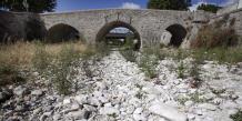 Le réchauffement climatique impactera la ressource en eau du bassin Rhône-Méditerranée. ©Cyril DELETTRE/REA