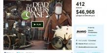 The Dead Flowers Case fait partie de ces projets de jeux vidéo français qui n'ont pas recueilli la somme escomptée sur la plateforme de crowdfunding Kickstarter. /Capture d'écran du site Kickstarter.