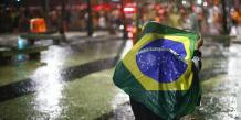 Réactions dans les rue après la défaite du Brésil face à l'Allemagne