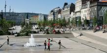 Place de Jaude à Clermont-Ferrand. Crédit Danyel Massacrier/Ville de Clermont