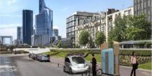 Les bornes de charge rapide Pulse Urban permettent de recharger camionnettes, triporteurs électriques, voitures et deux-roues électriques