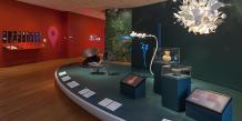 L'exposition « A Collection of Ideas », présentée au MoMA jusqu'au 15 février 2015. Le musée n'hésite pas à intégrer l'art numérique ainsi que les jeux vidéo à ses acquisitions.