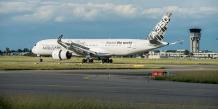 L'A350-900 testé par Airbus a traversé tous les océans pour son voyage d'essai autour du monde.