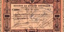 Le krach de l'Union générale, en 1882, entraîne toute la Bourse dans sa chute, provoquant une panique bancaire chez les déposants.