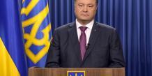 "Petro Porochenko parle d'une ""invasion russe"" en Ukraine"