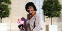 Samia Ghali, la sénatrice-maire du 8e secteur de Marseille et Roland Blum, l'adjoint au maire de Marseille, responsable de l'économie, lors de l'inauguration du centre de données de Jaguar Network.