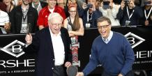 Bill Gates et Warren Buffet