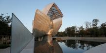 La fondation Vuitton, designée par Frank Gehry et inaugurée aujourd'hui, accueillera des expositions d'art et des concerts
