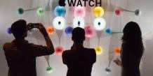 L'Apple Watch présenté dans le célèbre magasin Colette à Paris lors de la Fashion Week.