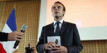 """Le budget de la France fait """"l'objet d'une discussion qui est normale avec la Commission européenne dans le cadre des traités"""", a indiqué Emmanuel Macron."""
