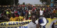 Nouvelle manifestation anti-Compaoré au Burkina Faso