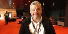 Tristan Nitot, président et fondateur de l'association Mozilla Europe, lors du Blend Web Mix de Lyon