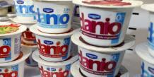 """En janvier, Danone a lancé le produit Danio, présenté comme un """"encas à la texture unique""""."""