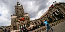 Le palais de la culture et de la science, à Varsovie.