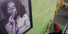 """""""L'herbe est faite pour soigner une nation, l'herbe aide à la méditation, l'herbe donne de meilleures vibrations"""", explique Rohan Marley, l'un des fils de l'inventeur du reggae."""