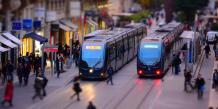 Proches des stations de tramway, les parcs relais jouent un rôle déterminant