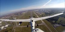 Le drone tactique Patroller (Sagem) a démontré sa capacité à effectuer des approches sur l'aéroport de Toulouse-Blagnac suivant les procédures définies par le contrôle aérien