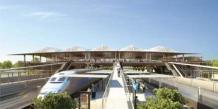 La nouvelle gare de Montpellier Sud de France