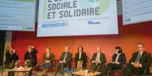 La Tribune, partenaire de la mairie de Paris pour l'édition 2013 des Trophées de l'économie sociale et solidaire, le 29 novembre 2013.