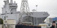 Les marins russes formés sur le Mistral quittent la France