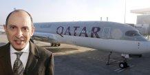 Airbus livre l'a350 a son premier client, qatar airways
