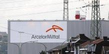 Arcelormittal, plus forte baisse du  cac 40 a la mi-seance