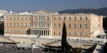 Deuxieme tour de l'election presidentielle pour les deputes grecs