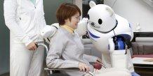 Robear robot japonais assistance à domicile Riken