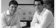Sébastien Lerouge et Yoann Tsobanoglou, co-fondateur d'Eval & Go