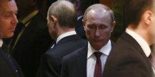 Vladimir poutine annonce un accord sur l'ukraine
